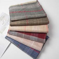 Plaid Scarf Acrylic Scarf Cashmere Scarf, Pashmina Virgin Wool Scarf, Shawl Unisex Winter Shawl
