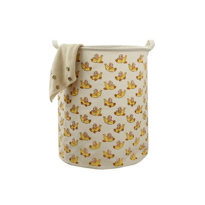 Universal Laundry Basket Groceries Japan and South Korea Color Printing Cartoon Storage Bucket, Dirty Clothes Storage Container