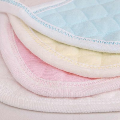 Luxury Soft Ecological Cotton Baby Bibs, Burp Bibs for New Born Infants, Baby Feeding Head Scarf Towel with Lace