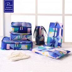 Travel Storage Set of 6, Luggage Storage, Travel Goods Clothing Storage Set for Traveling Business Trip, Hotel Use