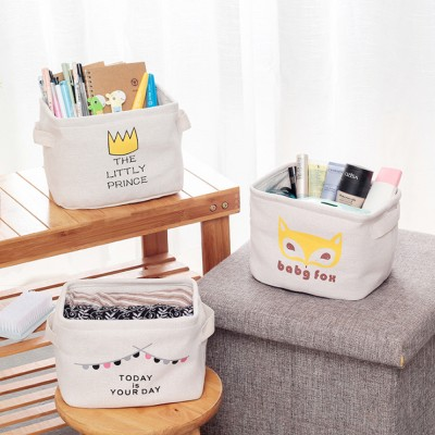 Snack Toy Desktop Storage Box Woven Straw Storage Basket