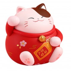 Cute Caron Fortune Cat Model Enduring Light Fragrance Car Perfume Aromatherapy Solid Perfume Ornament