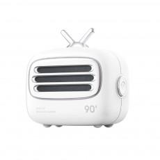 Portable Creative Vintage TV Model Wireless Bluetooth Bass Loudspeaker Mini Carton Long Endurance Sound Box