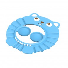 Adjustable Baby Bath Visor Cap Waterproof & Elastic Ring Hat for Shower, Bathtub, Sun Bathing, Hair Cutting