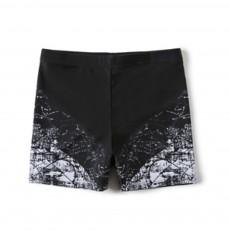 Men Sport Pants Athletic Training Short Easy-Dry Polyester Swim Trunk Stretchy Professional Flat Short Durable