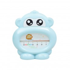 Baby Bath Thermometer Water Thermometer Monkey Shape Temperature for Infants Toddler Shower All Season