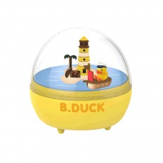 B.Duck Little Yellow Duck Career Series Music Box Cute Trend Handmade Desktop Arrangements Dummy Blind Box
