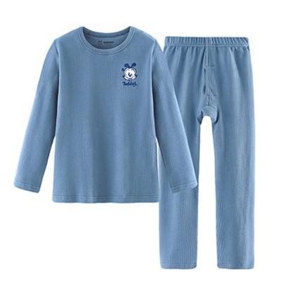 Bobdog Casual Children's Underwear Suit Cotton Boy's Autumn Suit Autumn Suit Warm Pajamas Spring and Autumn