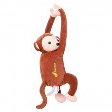 Monkey-shaped Hanging Paper Towel Boxes Popular Car Tissue Bag Pumping Carton Paper Towels Case TikTok Hot