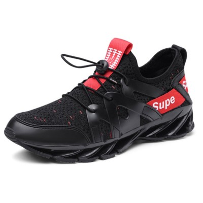 Men Running Shoe Sneaker Fashionable Casual Walking Shoe Blade Sneaker For Outdoor Indoor Use