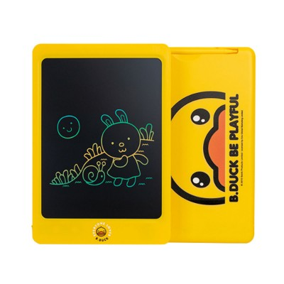 Little Yellow Duck Children's Color LCD Drawing Board 10.5 inch 8.5 inch Handwriting Board Graffiti Drawing Board Electronic Blackboard Writing Board