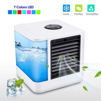 Mini Air Conditioner Fan Personal Space Air Cooler Quick Easy Cooling Air Conditioning Cooler Fan for Office Home