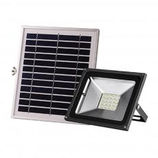 100W 50W 30W 20W 10W Solar Lighting Spotlight Streetlight Outdoor with 5730 LED and Dark Sensing Auto Switch for Yard Garden Wall