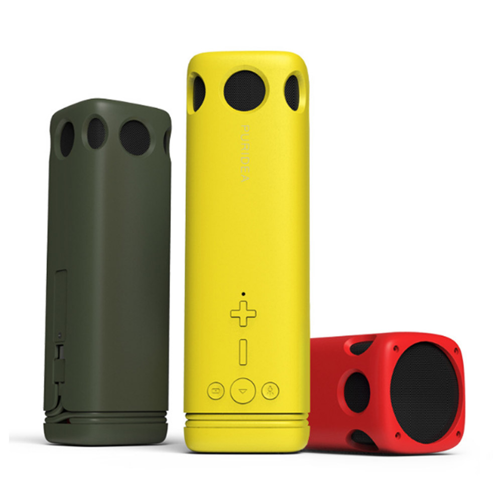Portable Quick Charging Power Bank with Built-in Flashlight Bluetooth Speaker 8000mAh Battery Premium Plastic Shell