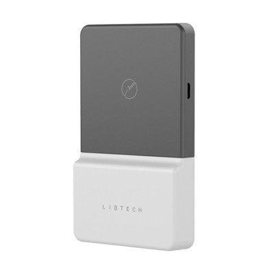 Portable Convenient Wireless Charging Adsorption Nano-Suction Back Clip Power Bank Mobile Phone Wireless Power Source