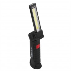 Foldable Cob Work Light 5 Modes USB Rechargeable Magnetic COB Flashlight Hanging Hook Outdoor Camping Lamp