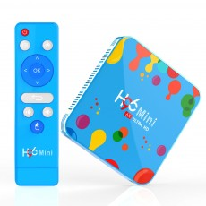 H96 Mini H6 Smart TV Box Android 9.0 4GB 128GB Media Player Bluetooth 4.0 Support 2.4G 5G WiFi 4K HD HDMI Google Player YouTube
