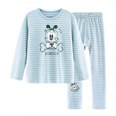 Children's Cotton Underwear Suit Baby's Autumn Suit Boy's Spring Autumn Home Long Suit Pajamas