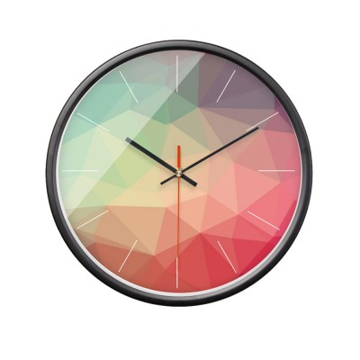 Nordic Style Wall Clock for Living Room Bedroom Use Quartz Movement Silent Ball Clock Modern Simple Geometric Series Wag-on-the-wall