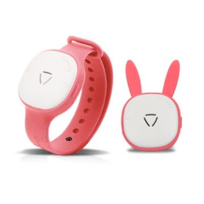 Children's Electronic Anti-mosquito Silicone Wristband for Outdoors Camping Fishing Nontoxic Sound Wave Mosquito Repellent Bracelet for Kids