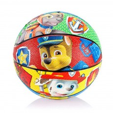 Cute Carton Paw Patrol Painting Children Basketball Football Small Bouncy Ball for Babies Sports Toy Improve Coordinate Ability