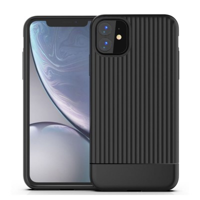 Shockproof Wear Resistant Phone Case TPU Soft Mobile Phone Protective Cover for iPhone 11 6.1 inch Airbag Attached