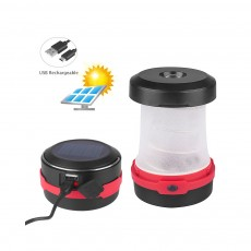 Rechargeable Pop-up LED Camping Light for Outdoor Activity Foldable Portable Telescopic LED Tent Lamp Handheld USB Chargeable Camping Lantern Ultra Bright Camping Lamp
