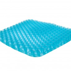 Breathable Honeycomb Seat Cushion for Sedentary Driving Japanese Elastic Jelly Ice Mat Bottom Stress-released Cellular Seat Mat Latticed Ice Cushion