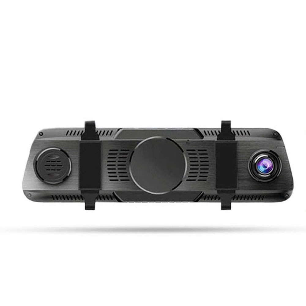 Back-looking Panoramic 360-degree Mirror Dash Cam Driving Recorder with Full HD 1080p Front and Rear
