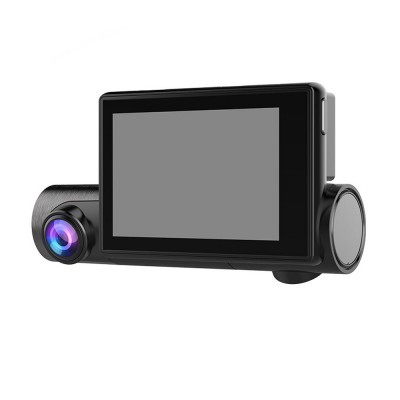 1080P GPS Dash Camera Full HD Car Driving Recorder with 140°Viewing Angle and 3 Inch Touch Screen for Taxi and Car