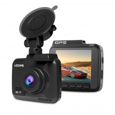GS63H Functional Night Vision Wide Angle 4K WIFI Automobile Dash Cam Data Recorder with Suction Mount GPS Track G-Sensor