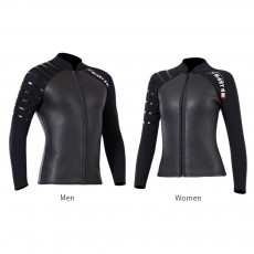 New Arrival Skinny Wetsuit 3mm Neoprene Slim Full Body Diving Suits for Swimming Snorkeling Surfing Fishing Front Zipper Suit Black
