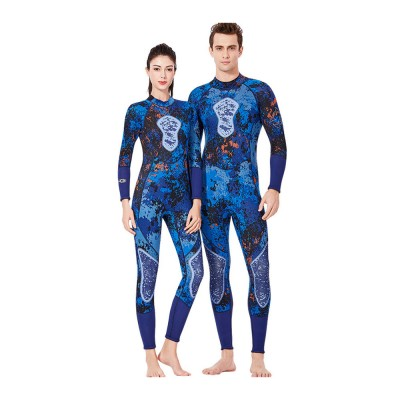Couples Warm Diving Suits 3mm Neoprene Wetsuit with Stretch Panels for Snorkeling Scuba Diving Surfing for Women Men