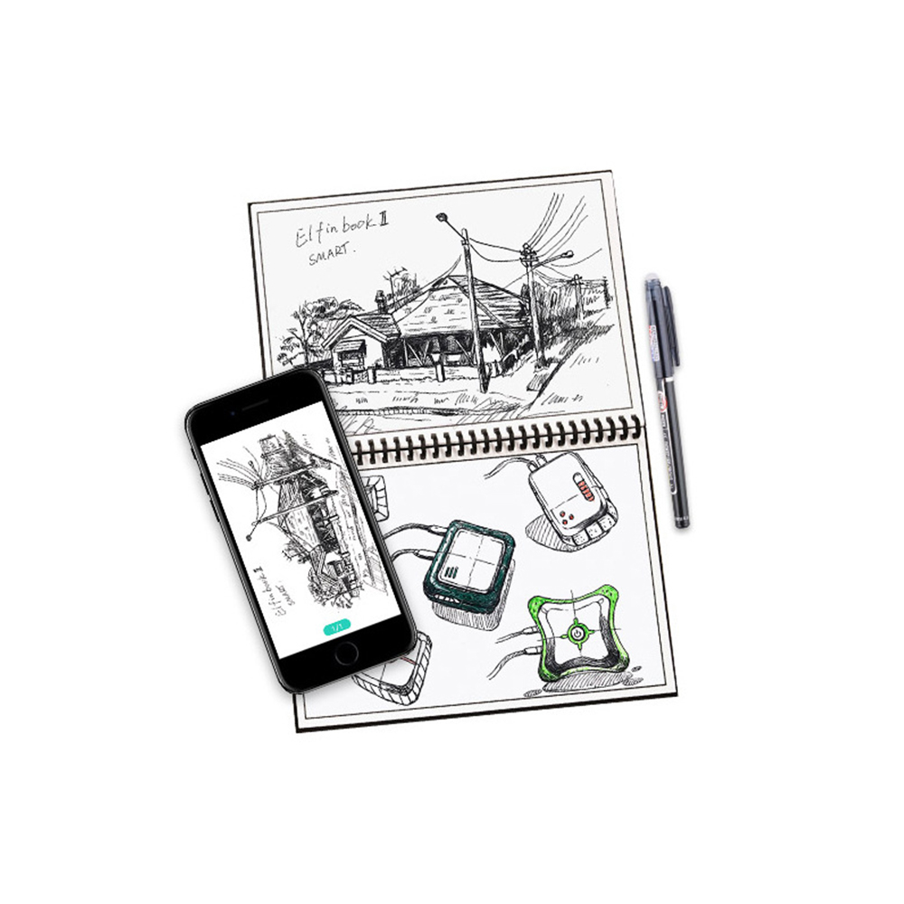 Repeatedly Erasable Digital Diary Intelligent Electronic Paper Notebook Compatible for Android  iOS PC Tablet PC