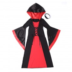 Kids' Halloween Dress Children's Long Suit for Hallowmas Performance Wear Resistant Quality Performance Wear Saints Day