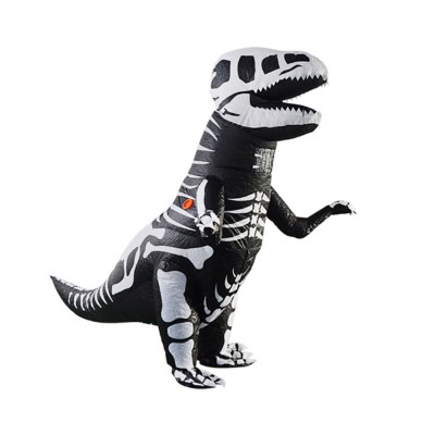 Tyrannosaurus Inflatable Suit for Halloween's Day Performance Waterproof Durable Walking Dinosaur Inflated Pressure Dress Inflatable Costume