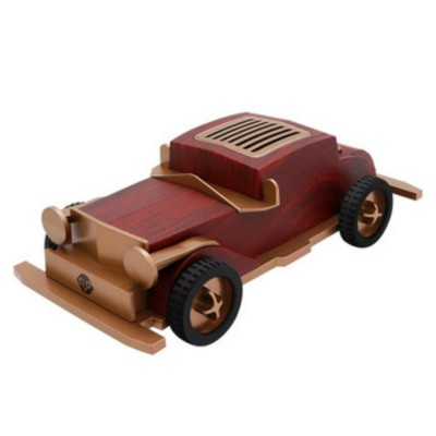 Retro Car-shaped Bluetooth Speaker with FM Radio Built-in Microphone Support Hands Free Phone Calls