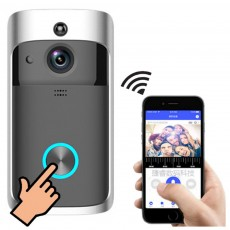 Wifi Video Doorbell Wireless Door Bell Motion Detection Video Two-Way Communication Wireless Home Security Camera with Lower Consumption