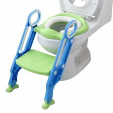 Foldable Adjustable Toilet Ladder for Infant Babies Children Anti-slip Safety Potty Training Step Assistant Tool