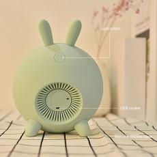 Sweet Dream Time Rabbit Wake Up Lamp Alarm Clock Sunrise Simulation New Children Alarm Night Light Creative Bunny Mood Light Clock