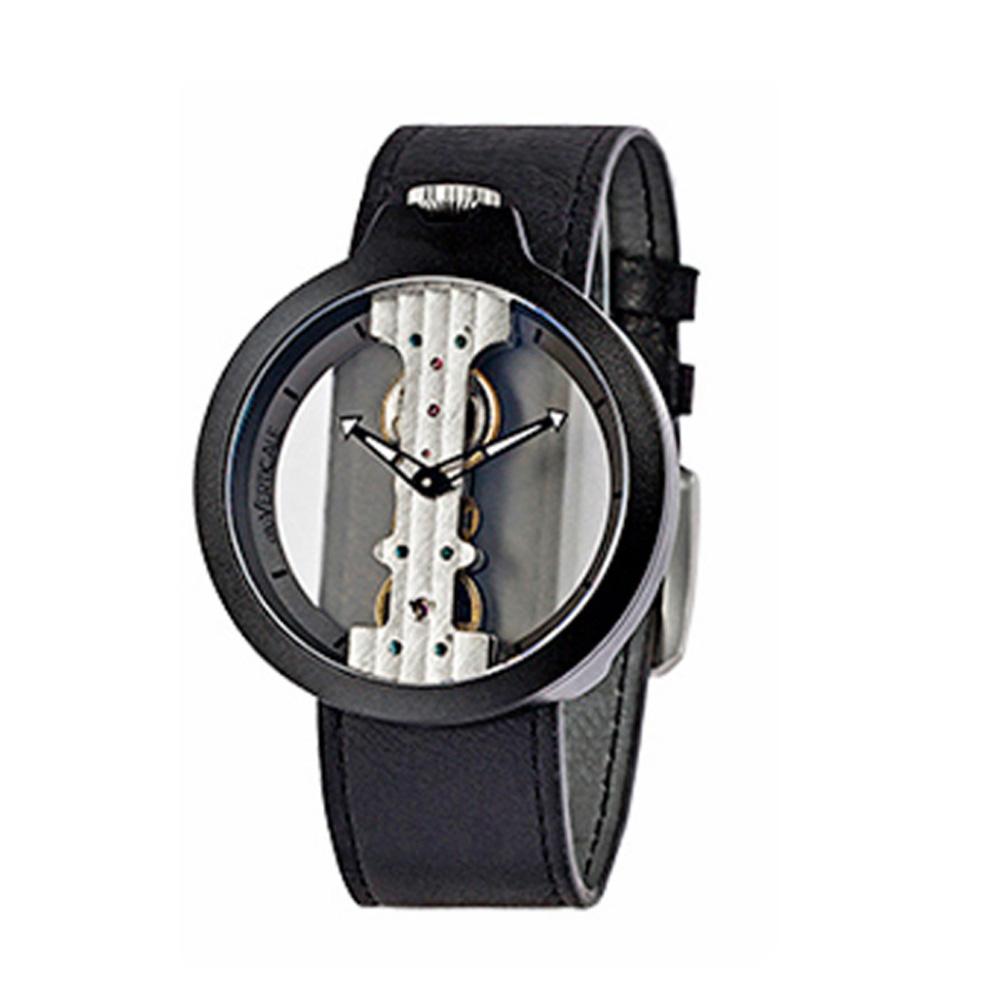Lovers Mechanical Watch Waterproof Leisure Fashion Wristwatch for Men Women Couple Watch Gift Leather Luminous Needle Vertical Movement