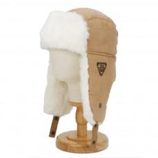 Winter Snow Hat Old Men Thickening Plus Velvet Warm Cap Plush Animal Cap Russian Style Faux Fur Hat With Ear Flaps Ski Earmuffs