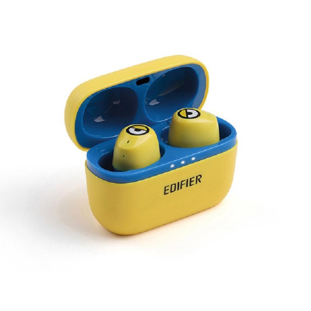 Minions Wireless Bluetooth Headset Binaural Mini Sports Running Waterproof Call In-ear Headphone Earphone