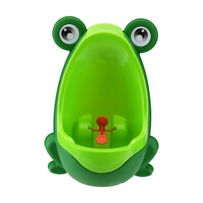 Cute Frog Model Wall Hanging Children Standing Urinal Separable Strong Suction Toilet Training for Boys