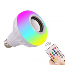 RGB Remote Control Bluetooth Music Bulb Night Lamp LED Intelligent Bulb Night Lamp WiFi Seven-color Music Lamp Stage Lamp