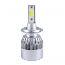 H1 H3 H4 H7 H11 360°Rotatable Car Front Light Brightness LED Interior with Cooling Fin and Quiet Cooling Fan Fit for All Types Vehicles