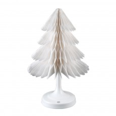 Christmas Tree Paper Night Light Battery Operated Lamp Ornaments USB Powered Table Flash Lights for Holiday Party Decorations