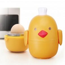 Rapid Egg Cooker Stainless Steel Electric Egg Steamer 3 Minutes Egg Boiler with Egg Shell Hole Puncher Kitchen Supply for Breakfast
