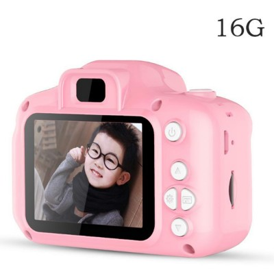 Mini Digital Camera for Children's Gift Environment-friendly ABS Funny Kids' Cams Durable Outdoor Video Camera Portable Cartoon Camera