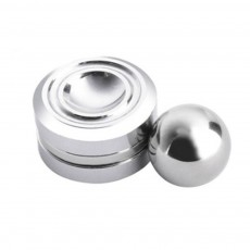 Creative Portable Magnetic Ball Hand Fingers Spinner Orbiter Relax Fidget Stress Fingers Toy Coordination Development